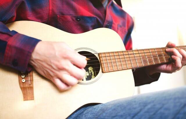 アコギ・アコースティックギター消音方法